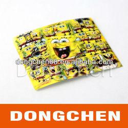 2013 new ! fashion mobile phone stickers,spongebob nail art stickers