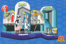 5-in-1 bouncy combo Looney tunes inflatable combo