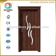 Kaiyang Turkey/Romania/Bulgaria/Ukraine interior wooden pvc mdf glass design door