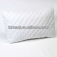 quilted microfiber pillow protector