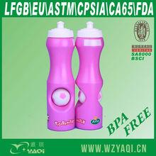 25oz bpa free plastic drink water bottle,football,basketball,custom ball