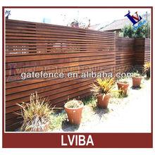 Decorative garden cheap wood fence