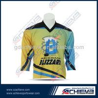 oem hockey association/club uniforms,specialize custom unique hckey shirt/wear