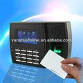 Biométrico y tarjeta de identificación de la máquina