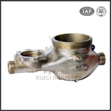 OEM casting stainless steel water meter cover