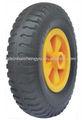 Mousse pu roues en polyuréthane 2.50-4