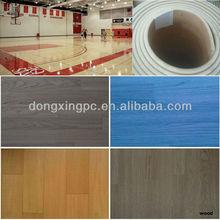 pvc foam flooring wood surface,basketball court flooring