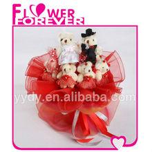 Plush Wedding Bear Toy Sample of Wedding Souvenirs