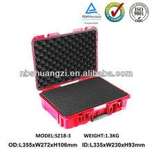 High impact plastic equipment tool carrying case