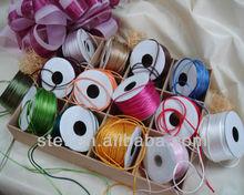 Wholesale cotton polyester cord silk satin cord