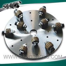 diamond bush hammer for stone grinding