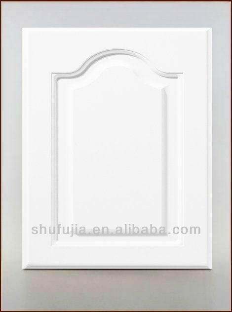 White high gloss pvc kitchen cabinet door view cabinet door sfj