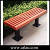 Arlau FW13 street furniture 3-seater wood bench seat