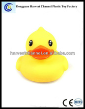 Hot selling cheap weighted floating rubber duck with good quality