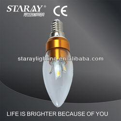 smd5630 3w 5w 7w auto light bulbs e12 candelabra led bulb