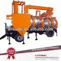 Caliente portable planta mezcladora de asfalto slj-16