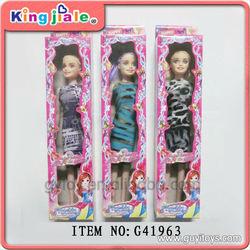 pvc little girl doll models