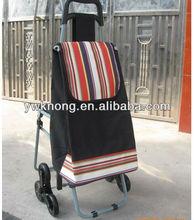 outdoor four wheels foldable shopping trolley bag,shopping cart foldable bag