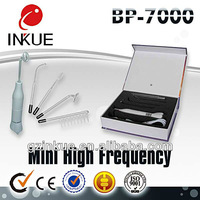 BP-7000 radio frequency violet ray wand/hair loss treatment/high frequency electric hair stimulator