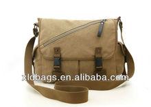 Fashion Men's Canvas Messenger Shoulder Laptop Bag Satchel Large Schoolbag Tote
