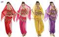 De los estados árabes sexy danza del vientre traje de la danza india sexy desgaste de la danza del vientre tela de traje de fantasía t- 5017#