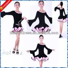 Enfants nouvelle robe de danse latine, Robe de bal Rumba Jive Chacha bal de danse latine filles robe de danse latine dressC-0013