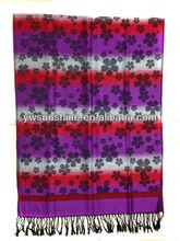 pashmina shawl,Ginkgo jacquard scarf