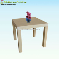 Square cherry wood end tables CT-282834