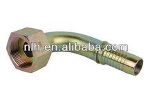 hydraulic fittings nipple 45 degree bsp female multiseal