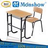 modern design single student desk chair