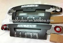 Hyundai TUCSON bumper guard,front+rear bumper for tucson