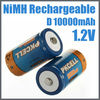 large size D nimh 1.2v batteries