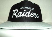 LA RAIDERS SNAPBACK HAT RETRO LOS ANGELES OAKLAND CAP