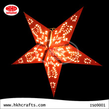 2015 hot sell party favor decoration chinese crafts paper star lanterns