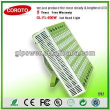600w Modular design Flood light led with Premium precise optical lens angle system for Soccer airport lighting