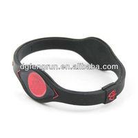 Fashion silicone balance strength flexibility bracelet