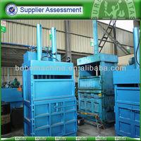 Used rags press baling machine