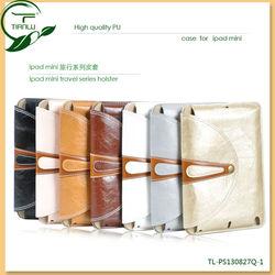 For ipad mini pu leather case, pu leather case for ipad mini