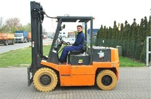 E60 E4631 Linde Used 6 Tons Electric Forklift Truck