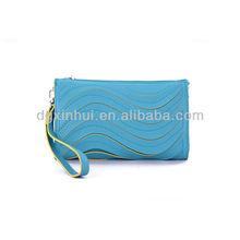 2014 Korean funky ruched hobo branded wallet