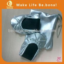 2013 venda quente mulheres sapatos baratos importados da China dobrável sapatos de Ballet Flats