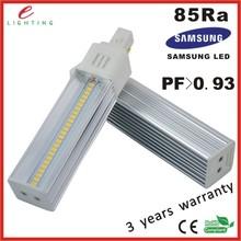 aviation aluminum + best PC housing energy saving g24 led plc bulbs