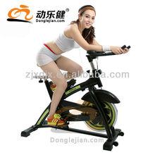 elliptical trainer and spinning bodybuilding bike