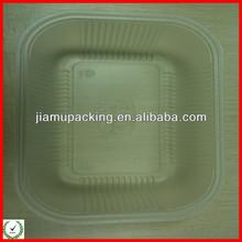 2013 hot popular transparent plastic food box manufacturer