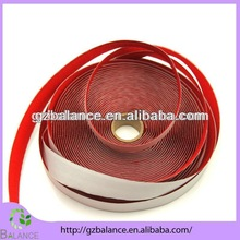 factory outlet red color adhesive velcro tape