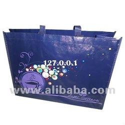 Non woven designer ladies handbags with 4 colour print