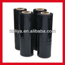 High strength plastic poly films black stretch films