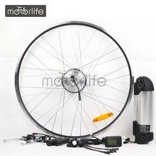MOTORLIFE HOT SALE CE pass 250w 26inch motorized bicycle kit
