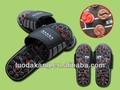 giro acupoint massagem magnética chinelo