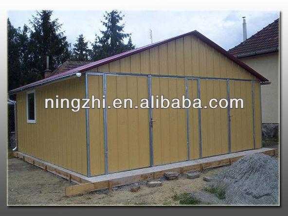 Gable Roof Steel Garage View Steel Container Garage Nz